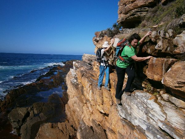Coastal scrambling near Cape Point