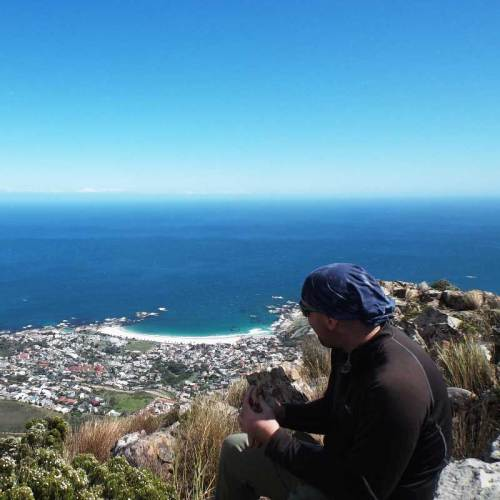 Table mountain overlooking Camps Bay