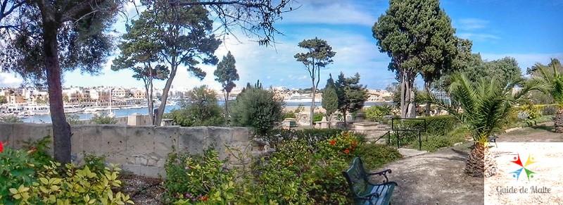 Bastion historic gardens malte jardin