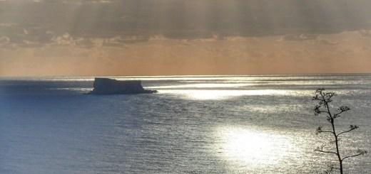 filfla malte soleil couchant vue mer