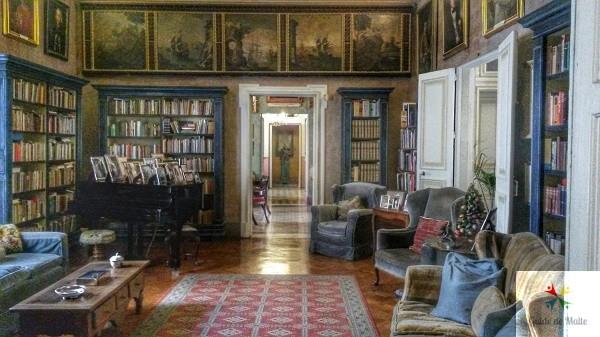 Une pièce de Casa Rocca Piccola