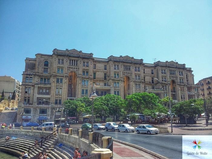 immeuble ancien malte balluta