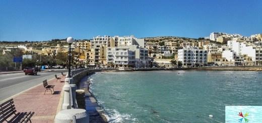 Front de mer de Xemxija malte