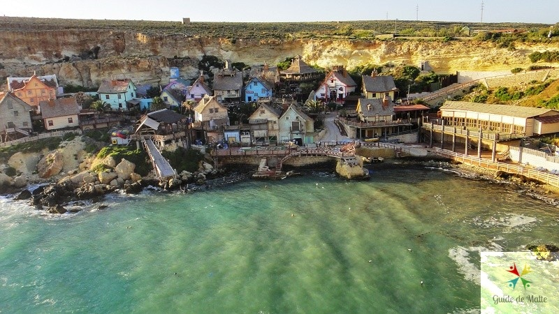 malte popeye village baie