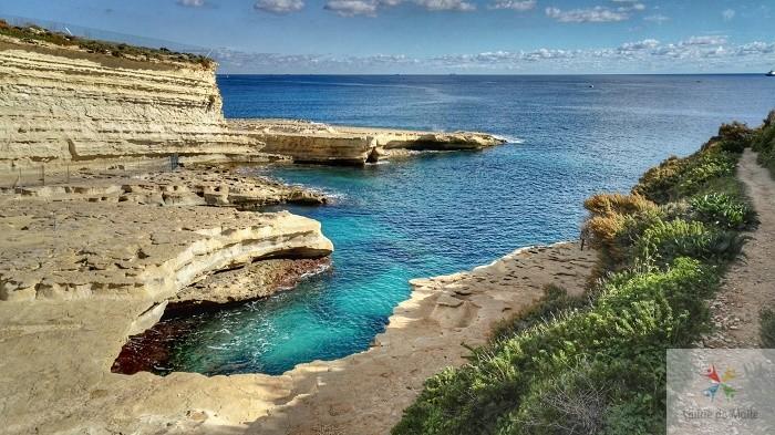 saint peter pools plage malte sud