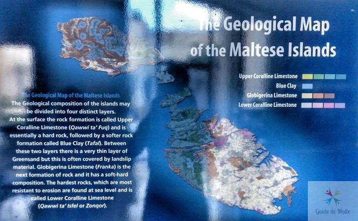 carte geologique malte qualité de pierre