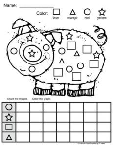 Piggy Shape Graph