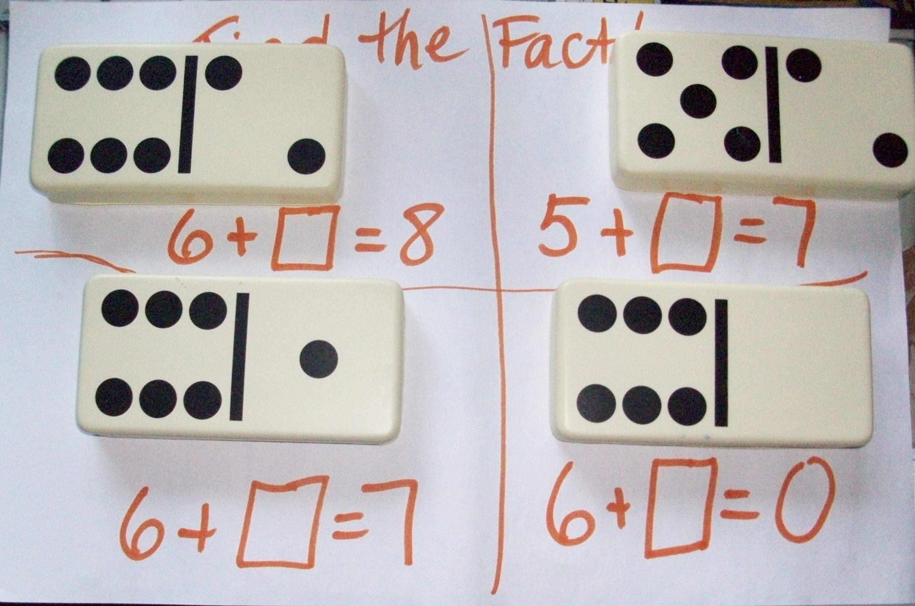 Guided Math With Dominos