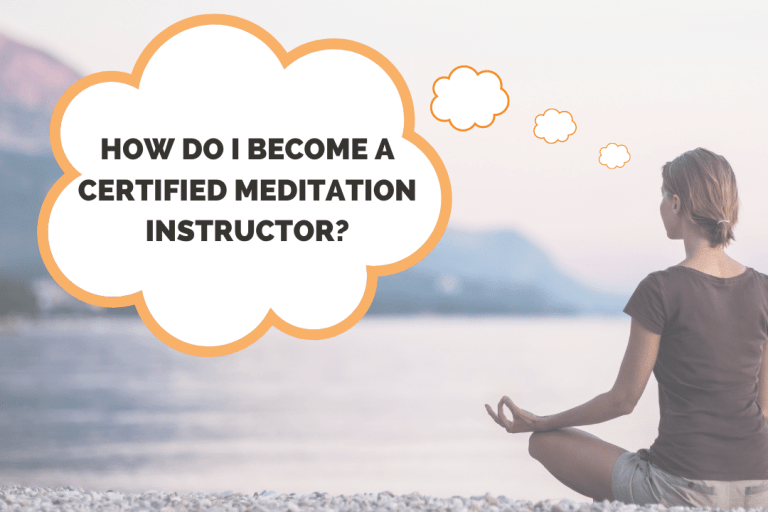 Woman thinking how do I become a certified meditation instructor
