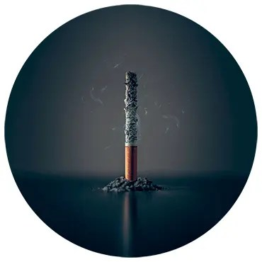 Using guided meditation for addiction to smoking