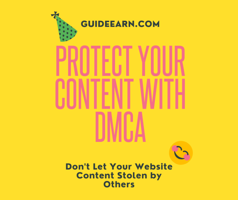 Protect Your Content With DMCA Protection