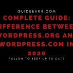 Complete Guide_ Difference Between WordPress.org and WordPress.com in 2020