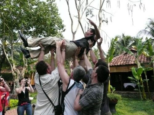 Un voyage avec le groupe AXA - Souvenirs memorables dans la vie d'un guide