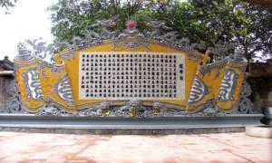 l'edit royal de transfert de la capitale a Hanoi