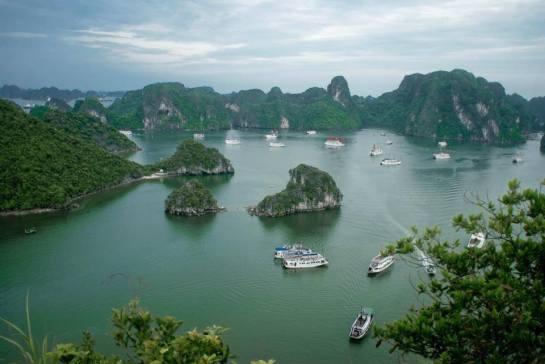 Selon JunKo's Junk, la baie d'Ha Long est un site fameux pour les touristes étrangers
