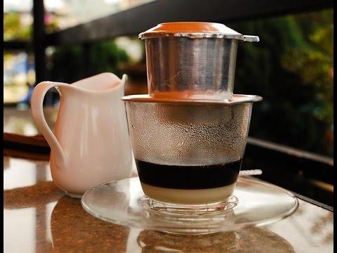 Café servi à la vietnamienne