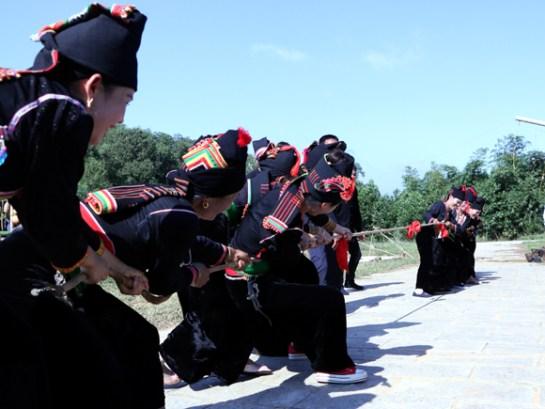 Les rituels et jeux de tir à la corde, reconnus en 2015 par l'Unesco