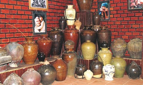 Des jarres de grande valeur Lam Dong