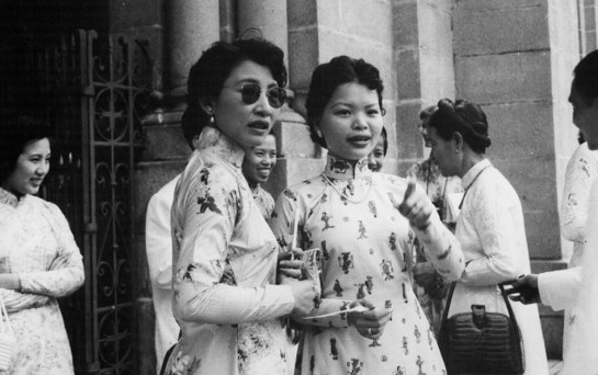 habit traditionnel vietnamien