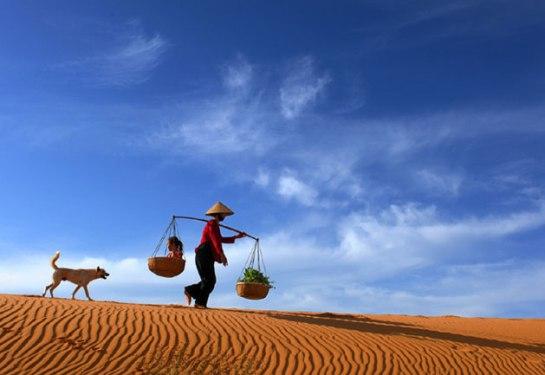 palanche et femmes vietnamiennes mui ne.JPG