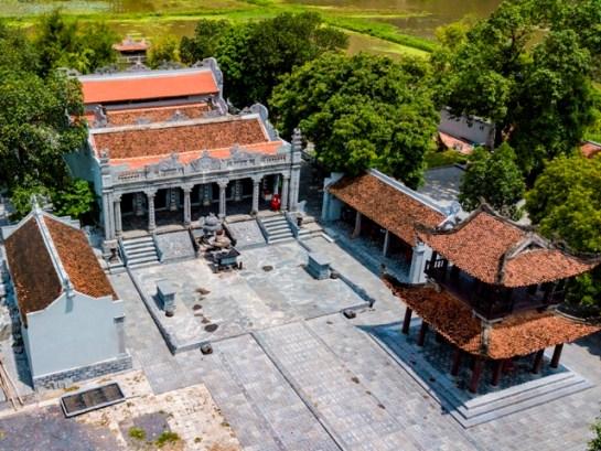 le panorama du temple thai vi