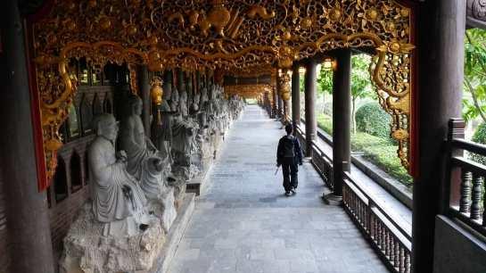 couloir des statues