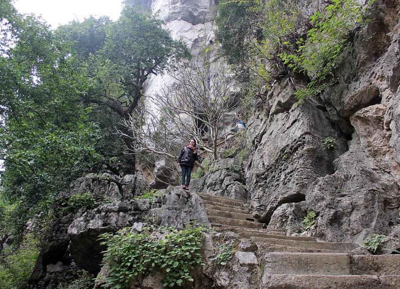 chemin a la pagode trung