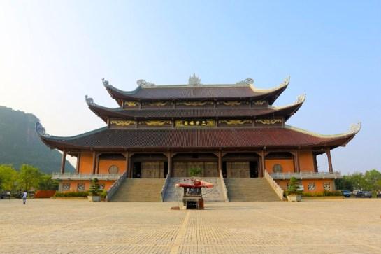 toit pagode bai dinh