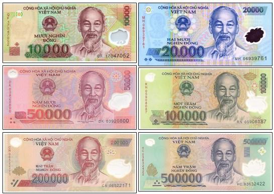 monnaie au vietnam 2