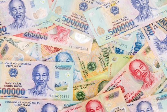 monnaie au vietnam