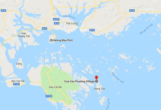 village flottant baie d halong