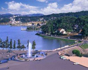 La province de Lam Dong