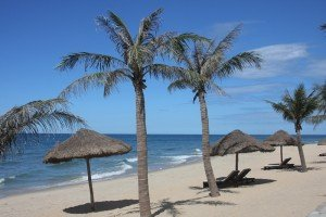 La plage de Thuan An
