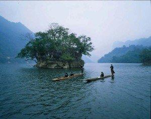 Le lac Ba Be