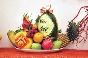 Le plateau de cinq fruits du Têt