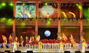 Cérémonie de clôture du festival de la mer de Nha Trang
