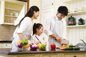 La famille vietnam