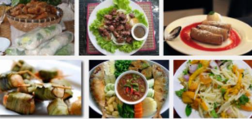 Cuisine et Gatronomie du Cambodge