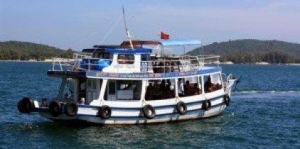 Depuis Hà Tiên, le visiteur peut visiter l'île de Phu Quôc, paradis terrestre.