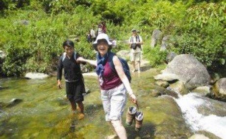 La randonnée, une forme de découverte très appréciée des voyageurs étrangers.