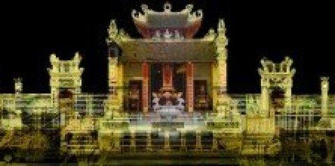 La fête au Temple de Lac Long Quân
