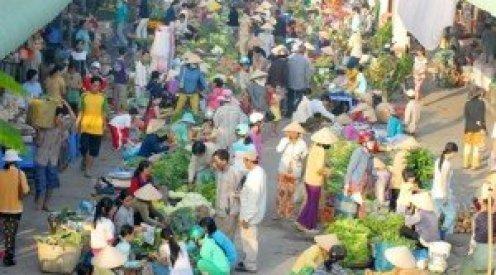 Le marché du Têt à la campagne