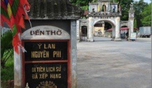 Le temple dédié à la Déesse-Mère Y Lan
