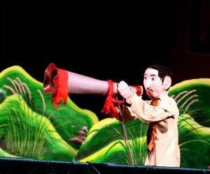 théâtre de marionnettes Hanoi