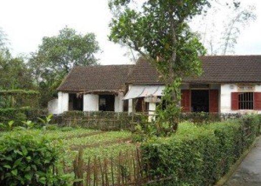 Un modèle de la maison typique