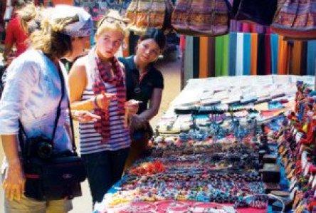 Le marché forain Can Cau