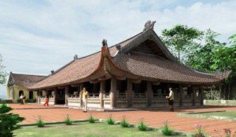 Maison Communales au Vietnam