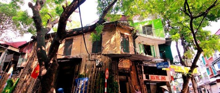 vieux quartier hang vai decouverte hanoi