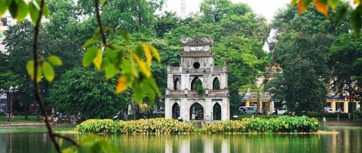 Lac du Hoan Kiem à Hanoi
