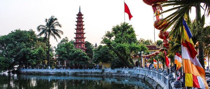 la pagode de Tran Quoc